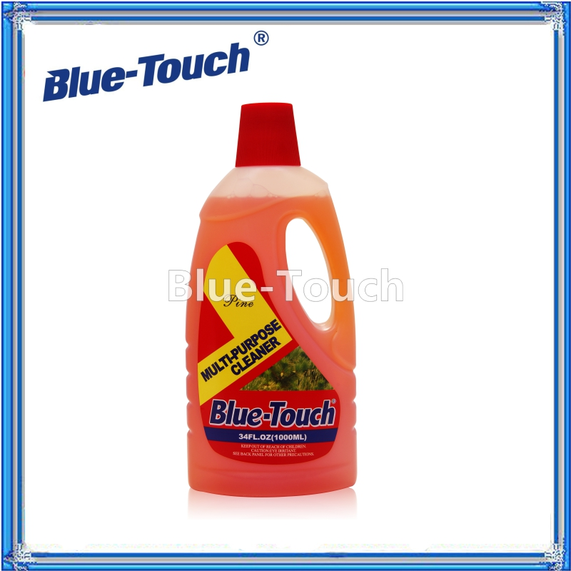Blue-Touch Remove stain and Degrease, Disinfect Multi-Purpose Cleaner-Pine Oil--34oz(1L)