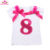 Personalised Happy Birthday T-shirts for Children Personalised Tops & Tees Partyware for kids
