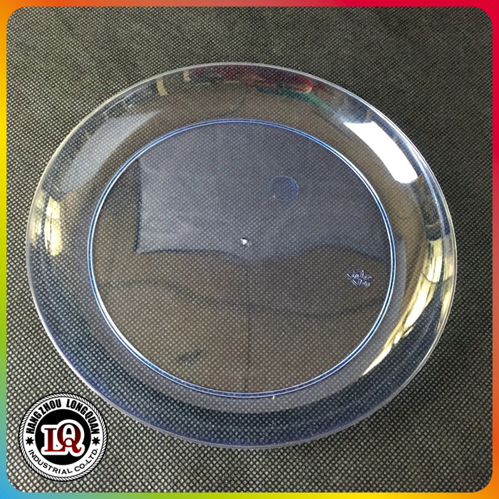 PS Plastic Clear Charger Plate