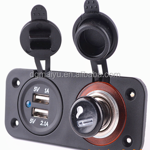 HOT Sale! DC 12v dual USB Power Socket for Boat Rv Car Motor-home - External Mount in stock direct factory