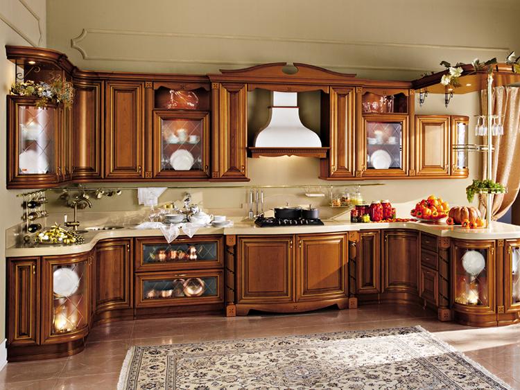 Professioneel ontwerp massief houten keuken kast keuken te koop