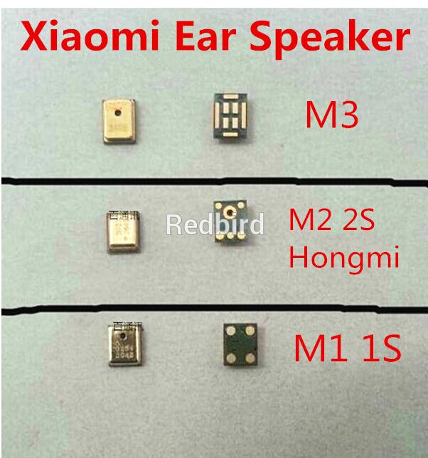 2 шт. / много подлинной Earspeaker частей микрофоном микрофон гарнитуры для Xiaomi M1 1 S M2 2 S M3 Hongmi красный рис Mi1 ир2