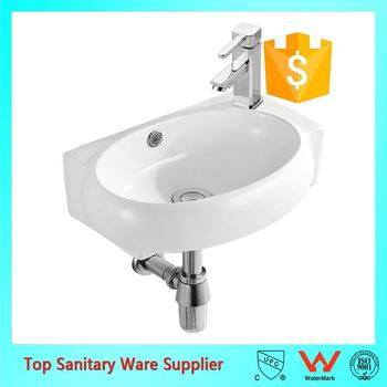 Wholesale Best Price Corner Hand Wash Basin Small Size Sink