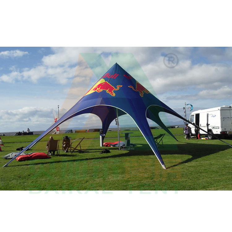 600D Oxford UV resist star tent camping bell tent outdoor event tent
