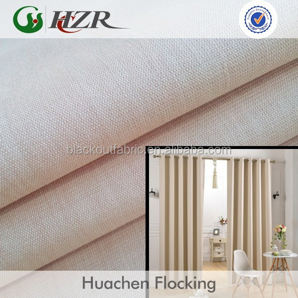 eco-friendly home textile wholesale dyeing 3 pass curtain blackout