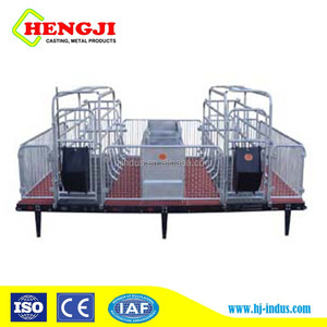 galvanized pipe farrowing cage for pig