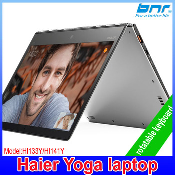Wholesale famous brand haier yogo laptop and OEM factroy pricer Quad core computer