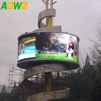 Full Color Outdoor Round curved shape LED Displays P4 P5 P6 P8 P10 P16