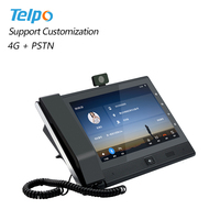 High Quality Wifi Hotspot 4G Volte Android Gsm Desktop Phone With Sim Card