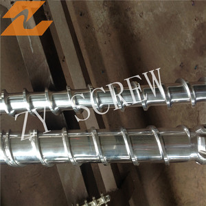 Screw Barrel Small stainless steel feed screw for chemical, food, metering, etc