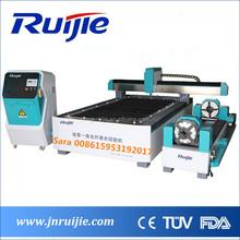 RUIJIE Manufacturer stainless steel square pipe / tube fiber metal laser cutting machine price
