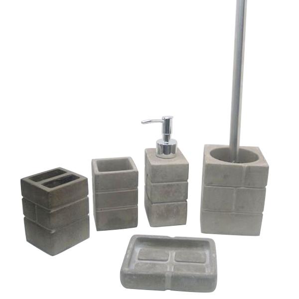 Home Decor Cement Bathroom Suite