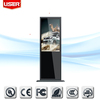 "Freestanding mall 65""capacitance touch interactive display screen totem\/ kiosk (indoor) tft with remote control"