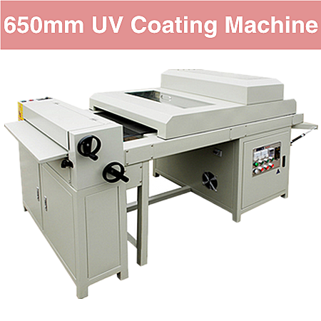 Digitale prints UV coating 650mm UV lak laminator embossing machine