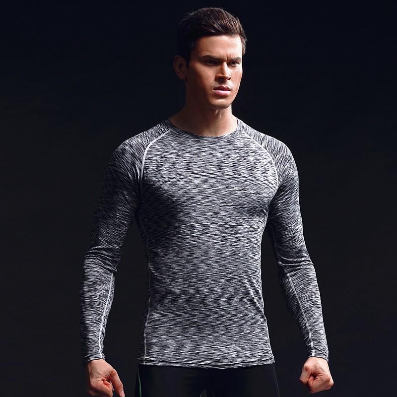 China Factory Men's Clothing Gym Sport Wear Tight Men's T Shirts Custom Men's T Shirts 11