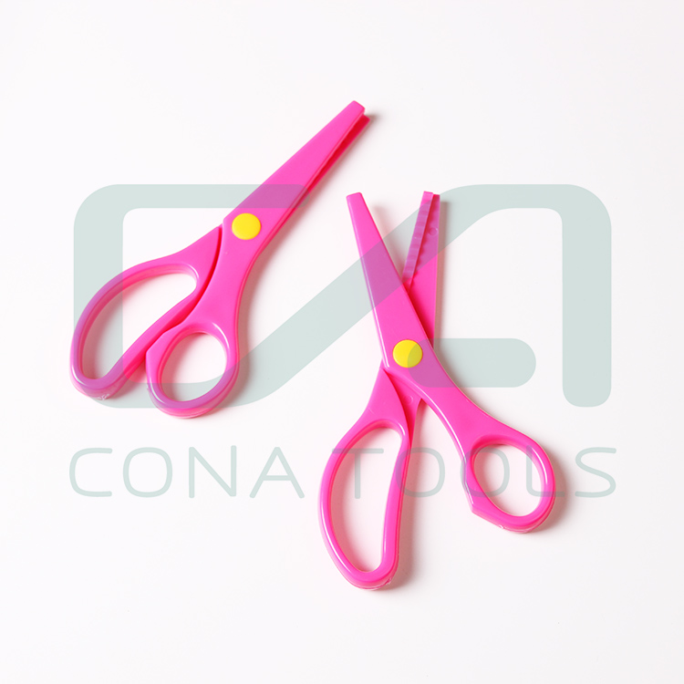 Hot sale high quality oem color stationery scissors