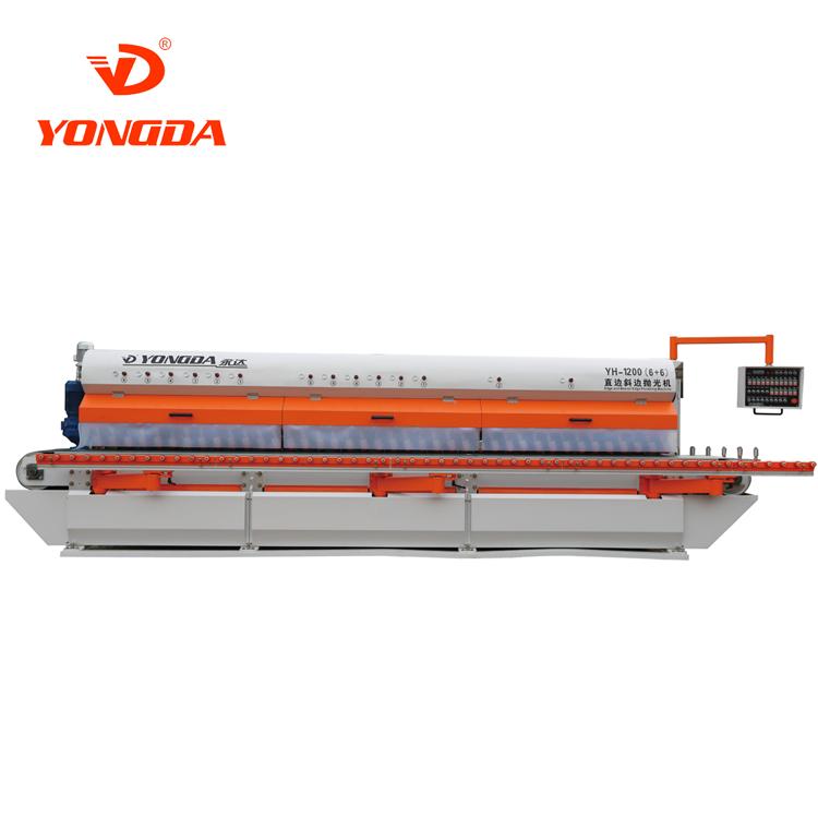 YH-1200 (90°) stone&ceramic arc grinding and polishing machine