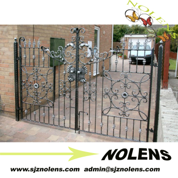 Wrought Iron Metal House Gate Design Side Gates Small Front