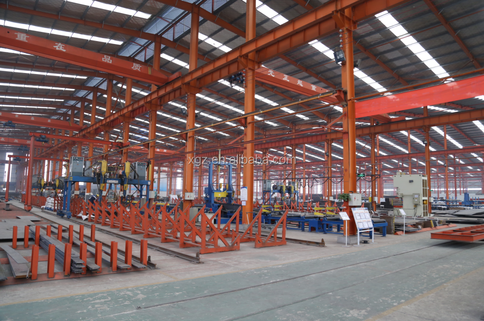 high quality prefabricate steel structure buildings for steel warehouse