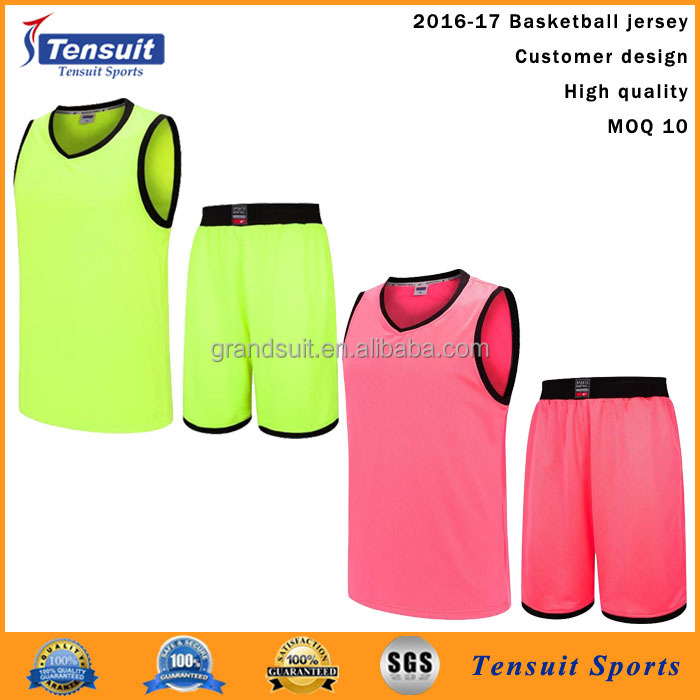 Ribbing european basketball jersey youth reversibel design jersey top quality basketball uniforms for wholesale