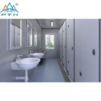 Kostengünstige Dusche Container Tragbare Toilette Fertig Badezimmer
