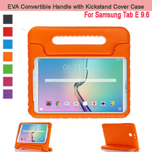 """EVA Shockproof Case Light Weight Kids Case Super Protection Cover Handle Stand Case For  Samsung Galaxy Tab E 9.6"""" Tablet T560"""