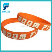 Custom silicon bracelet promotional OEM sport silicon wristband