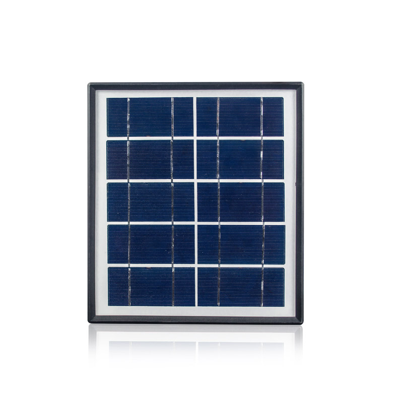 Small Size 5v 5w Plastic Solar Panel Solar Panel Frame