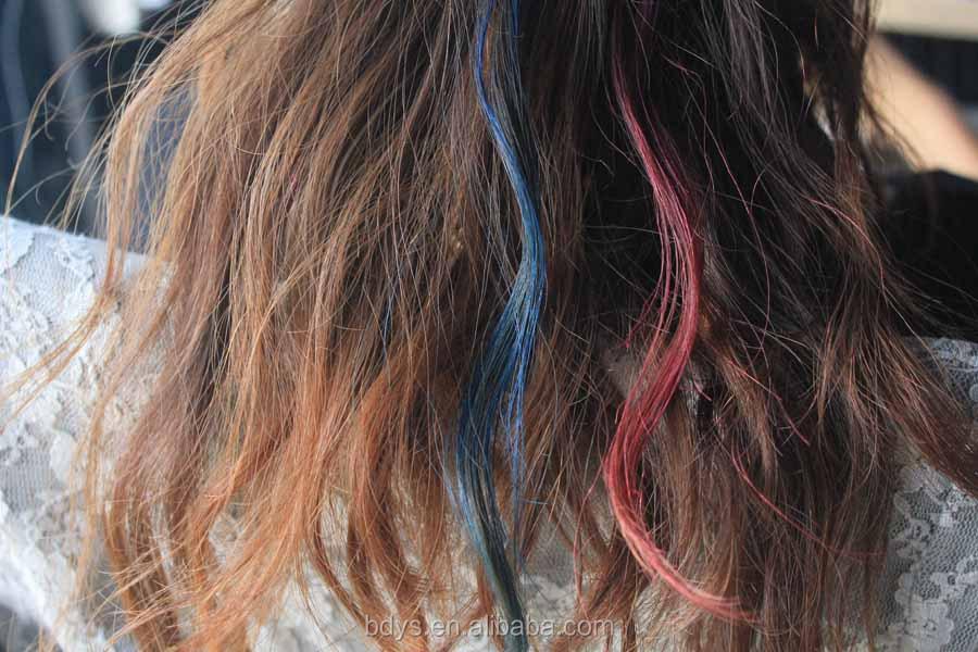Oem Supplier Eco Friendly Hair Dye 8 Color Temporary Mini Hair Dye