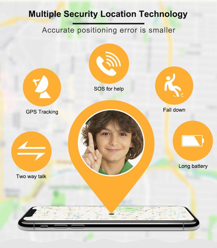 3G 4G gps tracker gps 4g di chip per i bambini gps tracker
