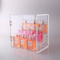 alibaba store plastic clear acrylic perfume display