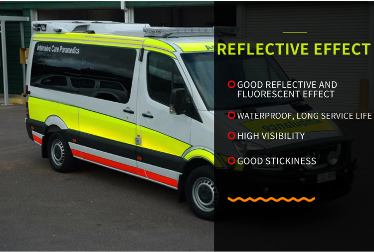 Factory price high visibility infrared reflective tape for truck