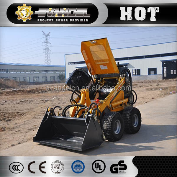 HYSOON 200KG Mini electric skid steer loader HY380 for sale