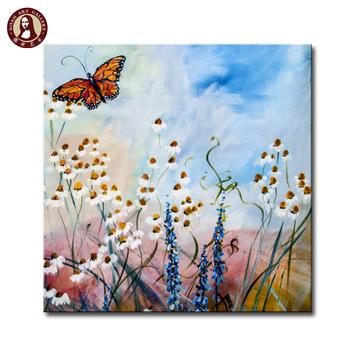 Dekorasyon Sanat Tuval üzerine Kelebek Boyama Buy Tuval üzerine Kelebek Boyamakelebek Yağlıboyakelebek çiçekler Tuval Yağlıboya Product On