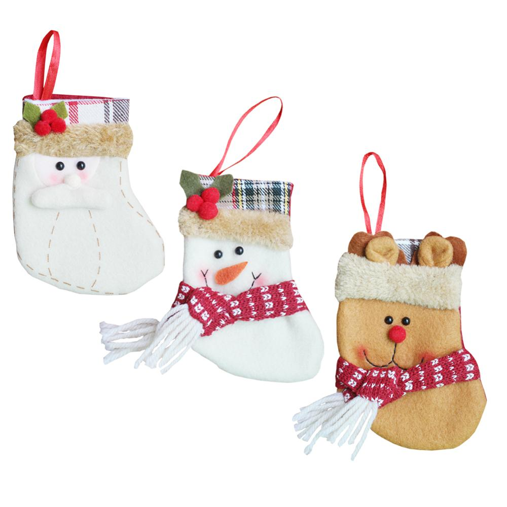 Classic Beautiful Christmas Stockings Personalized Embroidered Snow ...