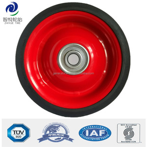 4 inch metal toy rubber wheels tires