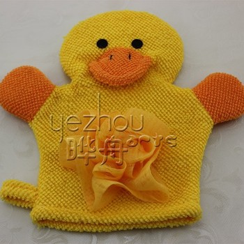 Animal Shaped Baby Bath Sponge Glove - Buy Baby Bath Sponge Glove ...