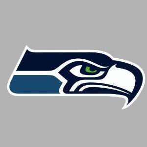 Seattle Seahawks Die Cut Decal 4x4