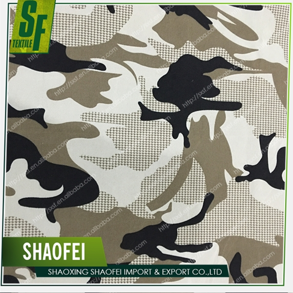 The Hot Sale New Product Gabardine 100% Polyester Fabric Camouflage Textile Military Cloth For Uniform Work Coat Suitcase