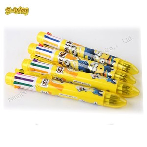 Best selling multicolor ballpoint jumbo pen