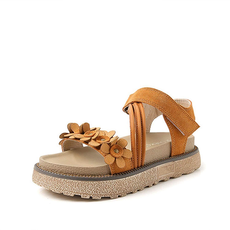 611ffd4d8571bf Get Quotations · Women s Platform Sandals Summer Peep-Toe Velcro Sandals  Anti-Slip Outdoor Beach Shoes