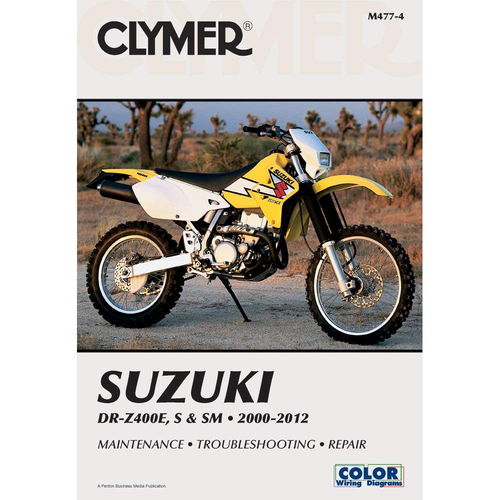 get quotations � 00-14 suzuki drz400s: clymer service manual (misc)