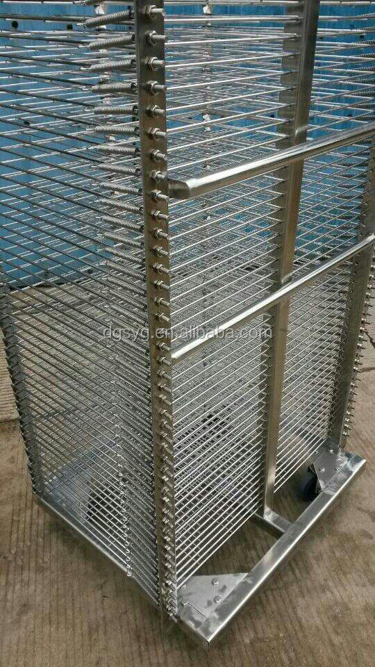 Industrial Drying Rack Cabinet ~ Stainless steel industrial drying rack for screen printing