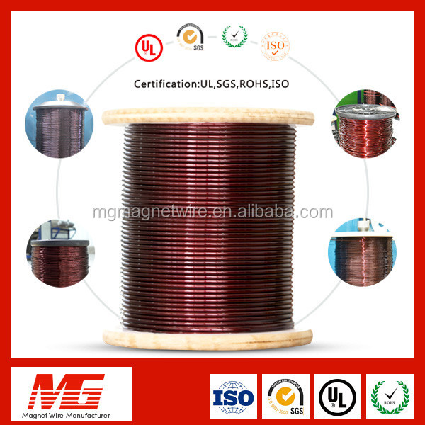 Specialized in magnet wire manufacturer round enamel coated aluminum electrical winding wire
