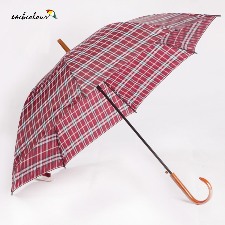 Wholesale double layer sport golf umbrella with windproof carbon fiber