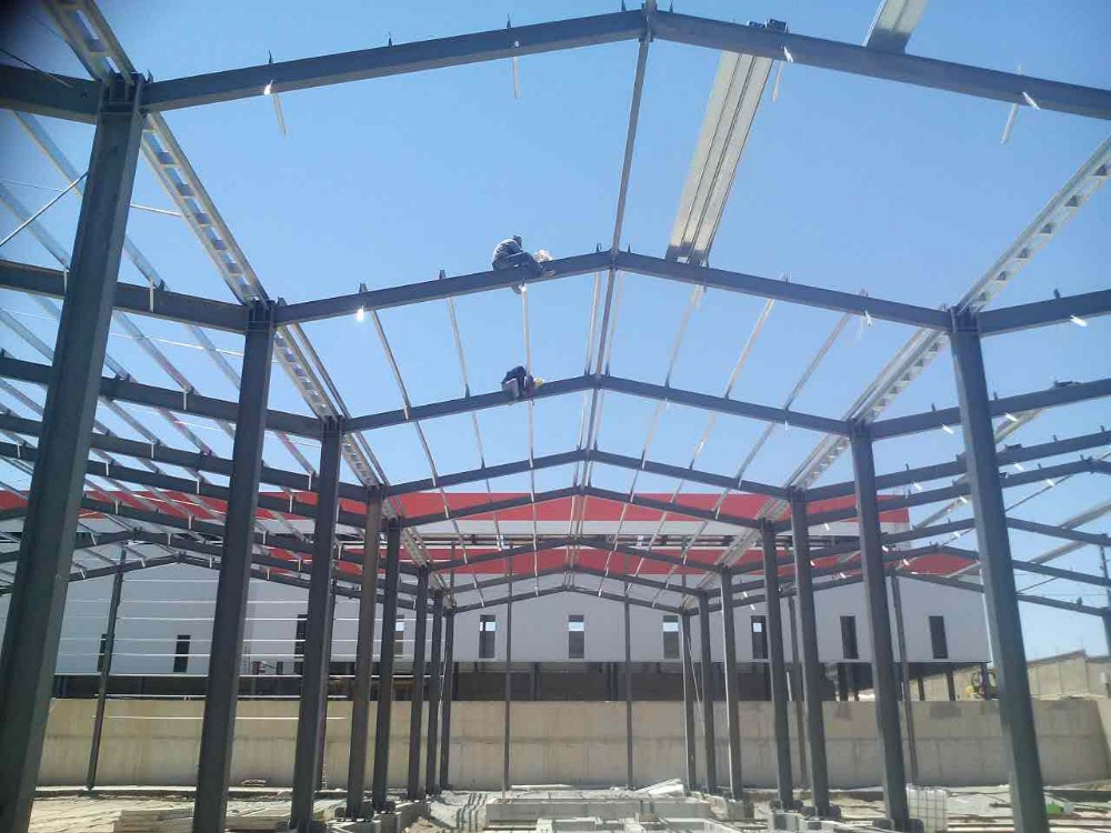Prefabricated Modular Light Steel Industrial Steel Hall
