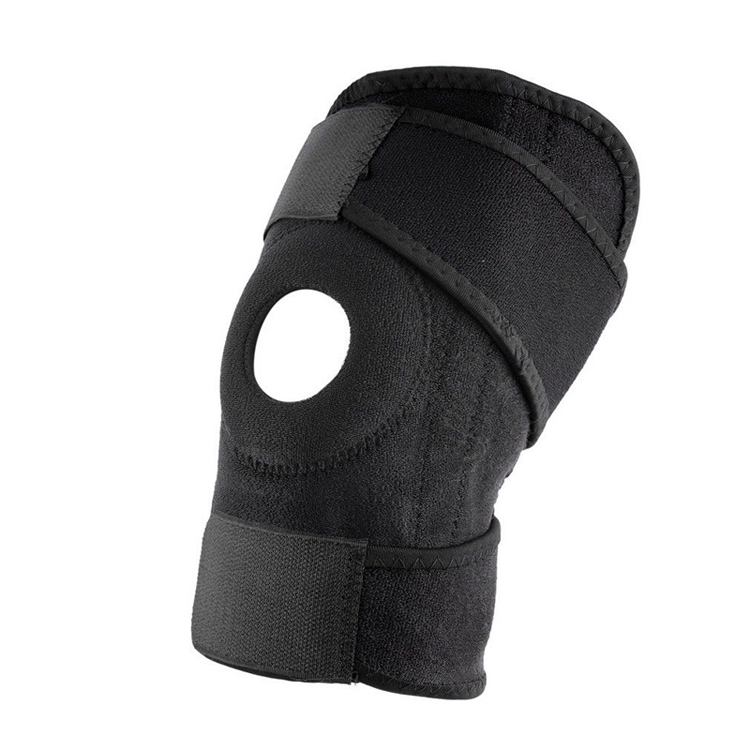 Private Label Factory Price Tightness Adjustable Double Pressure Hinged Knee Brace For Sports Safety