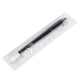 Lushcolor Black 18U Shape Permanent Makeup Eyebrow Tattoo Disposable Microblading Pen For Training