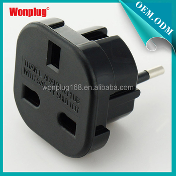 2014 Uk To European Plug/ Uk To Eu Plug Adapter/usa To Eu Plug ...
