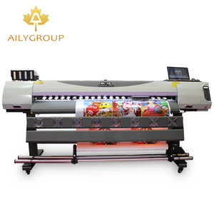 China hot selling large format 1.6m / 1.8m / 3.2 m pvc card printer for sale